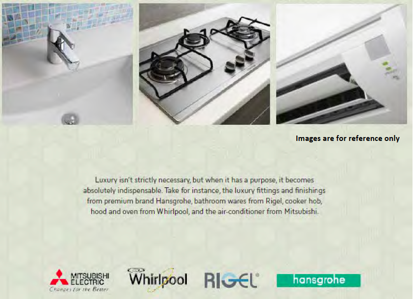 Brownstone quality fittings and appliances