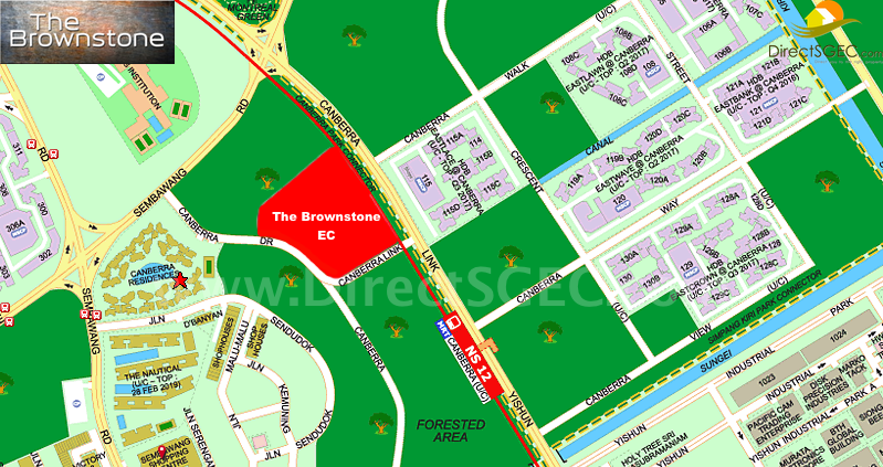 The Brownstone Location Map