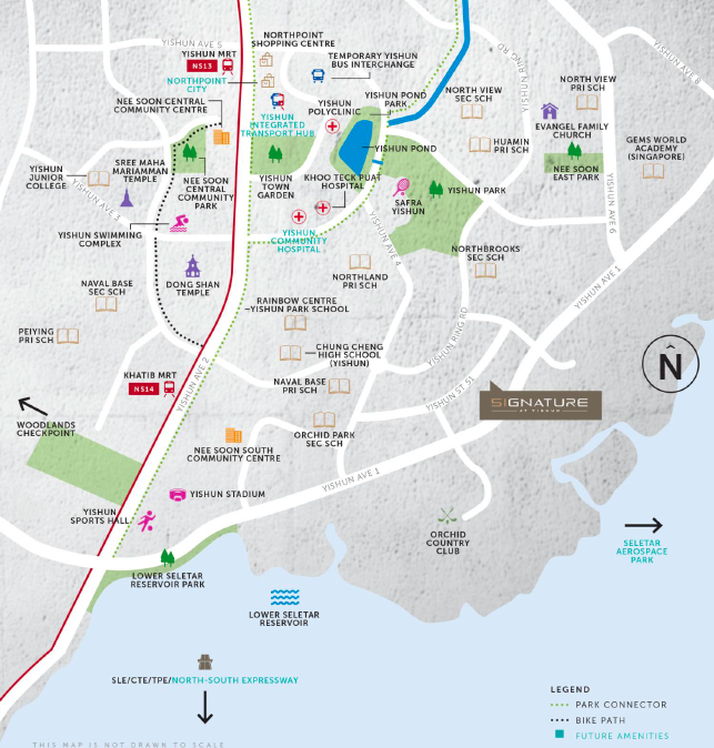 Signature at yishun brochure site plan