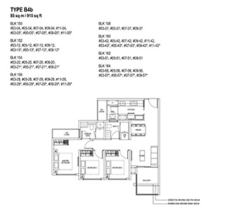 3 Bedroom Type B4b