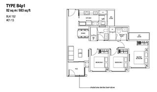 3 Bedroom Type B4p1