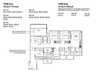 4 Bedroom Type C1a & C1d