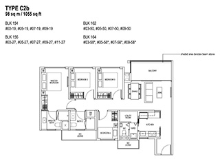 4 Bedroom Type C2b