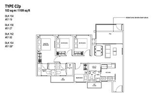 4 Bedroom Type C2p
