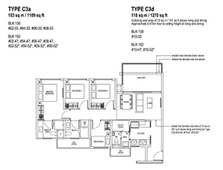 4 Bedroom Type C3a & C3d