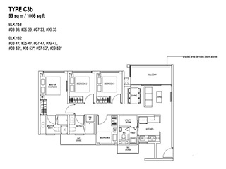 4 Bedroom Type C3b
