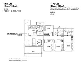 4 Bedroom Type C5a & C5d