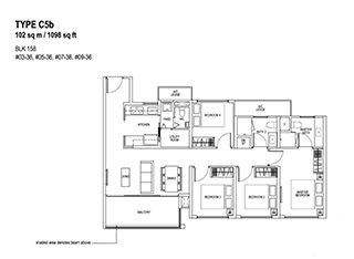 4 Bedroom Type C5b