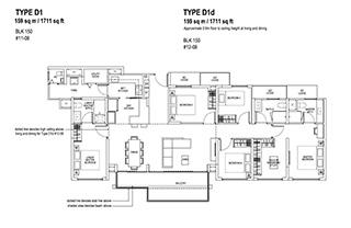 5 Bedroom Type D1 & D1d