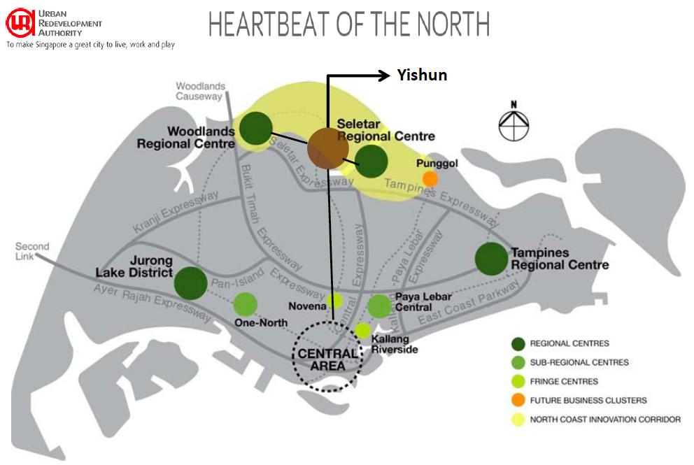 Woodland and Seletar Regional Centres