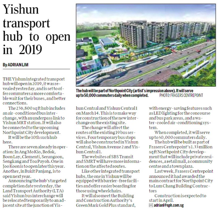 Yishun Transport Hub