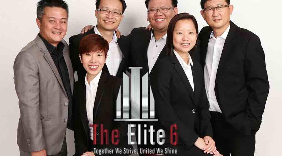 Darry Ho, Tony Lai, Steven Chia, Danny Ho Catherine Tan & Denise Hon