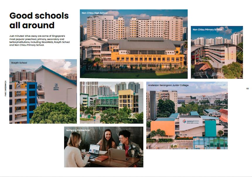 Schools around Parc Greenwich