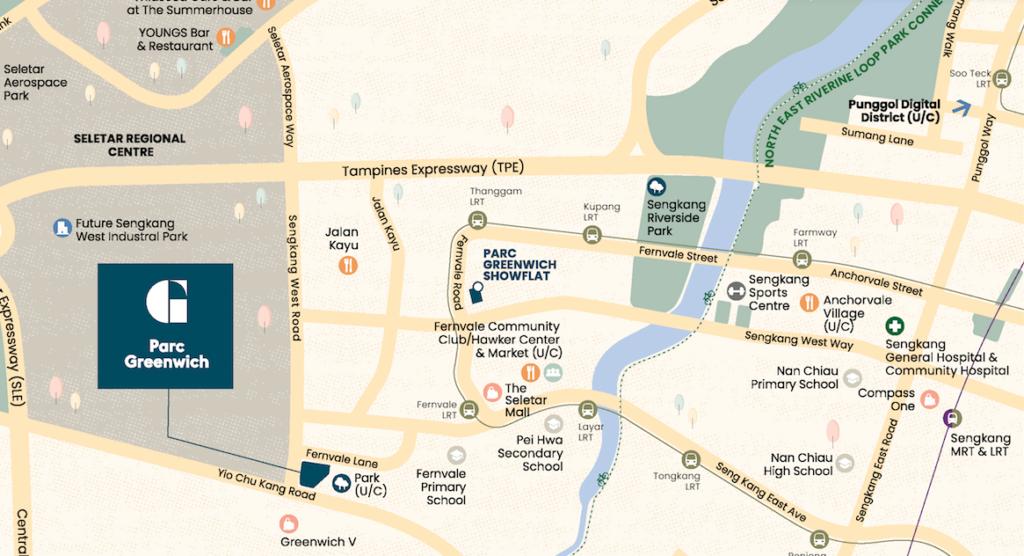 Parc Greenwich Showflat & Site Location
